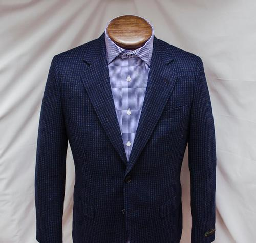 Stratford Blue Check Sport Coat