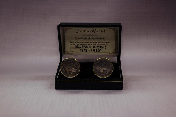 Buffalo Nickle Cuff Links