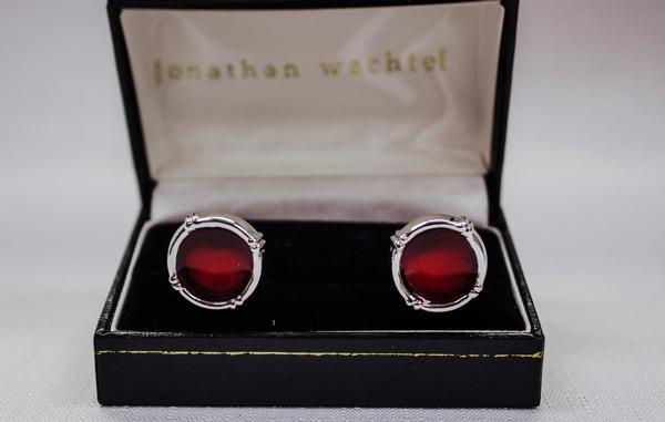 Red Cuff Links