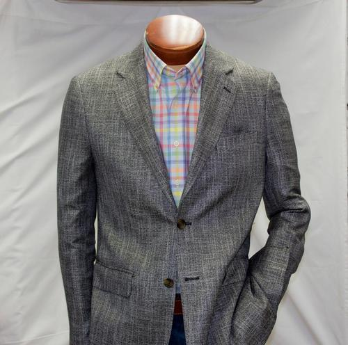 Stratford Grey Black Sport Coat - $ 695