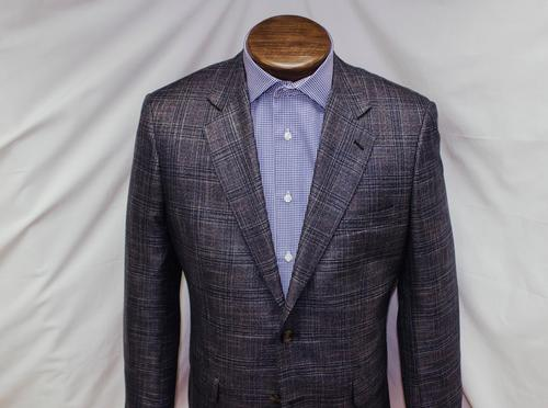 Grey Windowpane Sport Coat